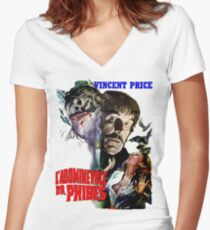 Abominable Dr. Phibes - Vincent Price 1971 Women's Fitted V-Neck T-Shirt