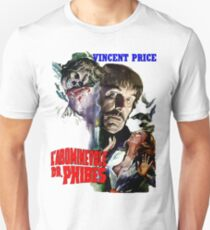 Abominable Dr. Phibes - Vincent Price 1971 T-Shirt