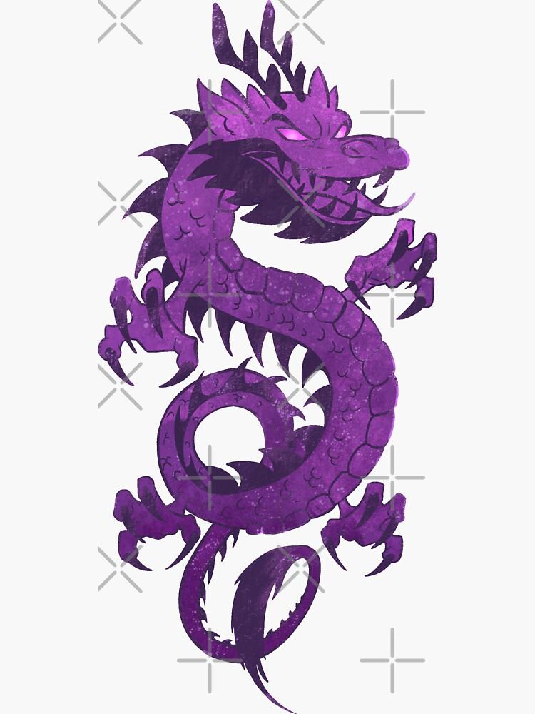 Purple Dragons by ArteBE