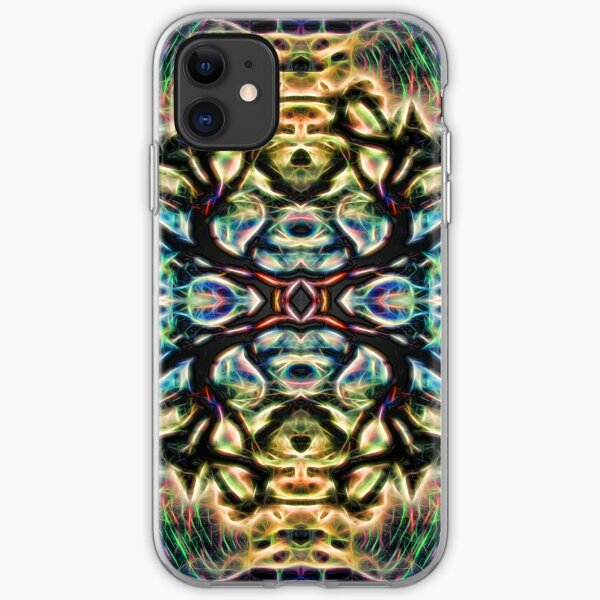 Neon Tree Shapes 7 iPhone Soft Case