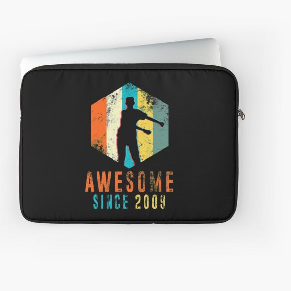 Awesome Since 2009 Vintage 2009 - Floss Dance 10th Birthday Laptop Sleeve