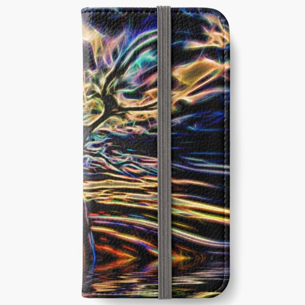 Neon Tree Shapes 11 iPhone Wallet