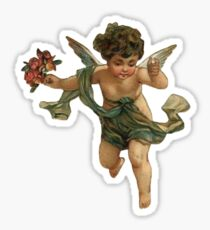 angel aesthetic Sticker