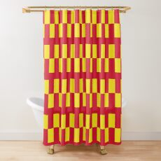 Flag of Northumberland Shower Curtain