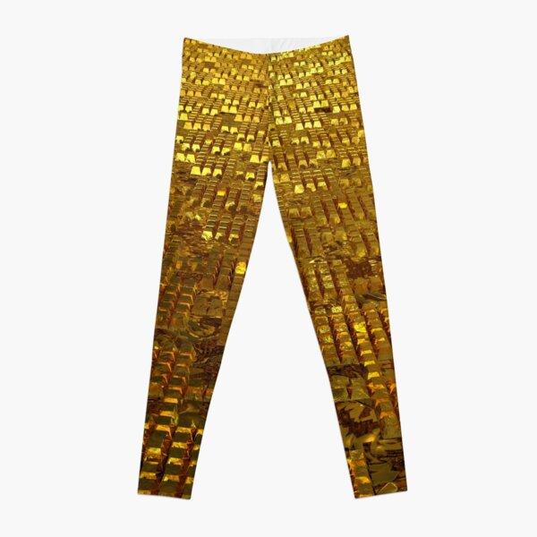 Gold Bars Leggings