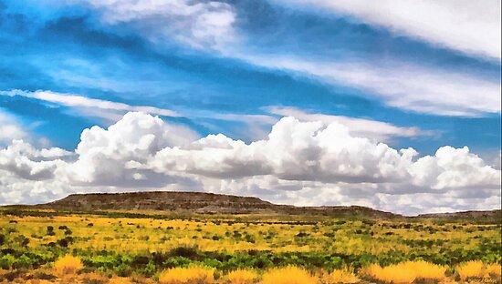 Mesa Landscape by Walter Colvin