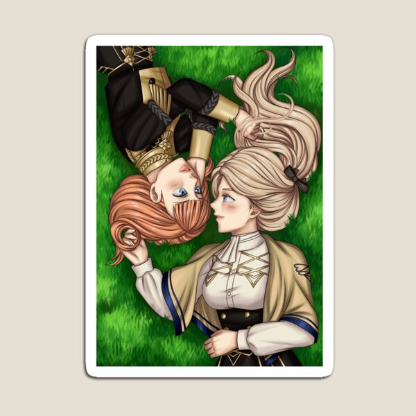 Mercedes and Annette (FE3H) Magnet
