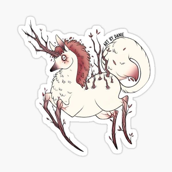 Woodland Unicorn Sticker