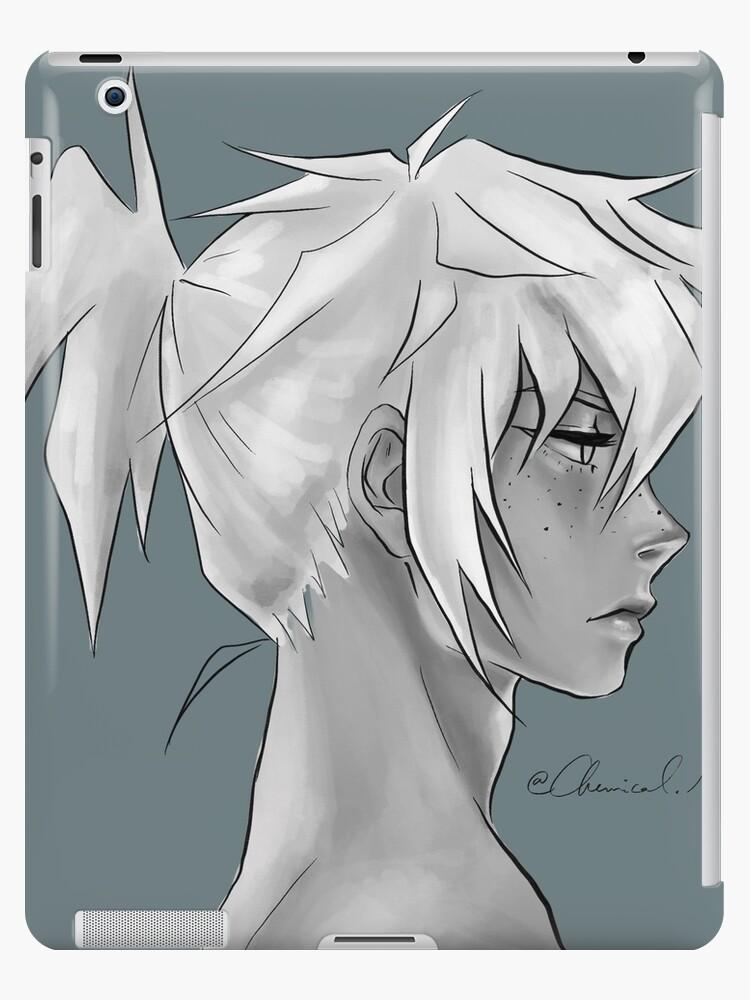 Anime Boy Profile Ipad Case Skin By Senakha Redbubble