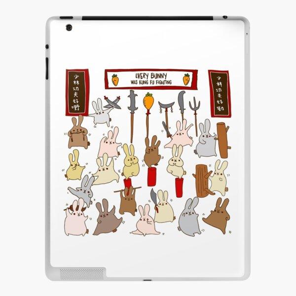 Every bunny was kung fu fighting iPad Skin