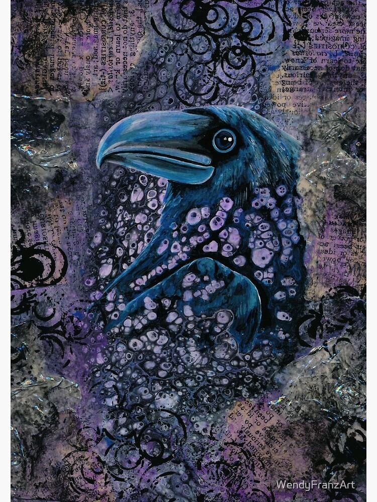 Raven by WendyFranzArt
