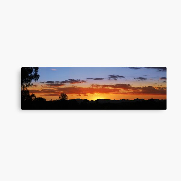 Warrumbungles, New South Wales. Canvas Print