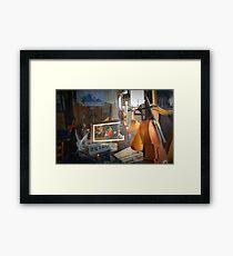 The Flamenco Dancer Framed Print