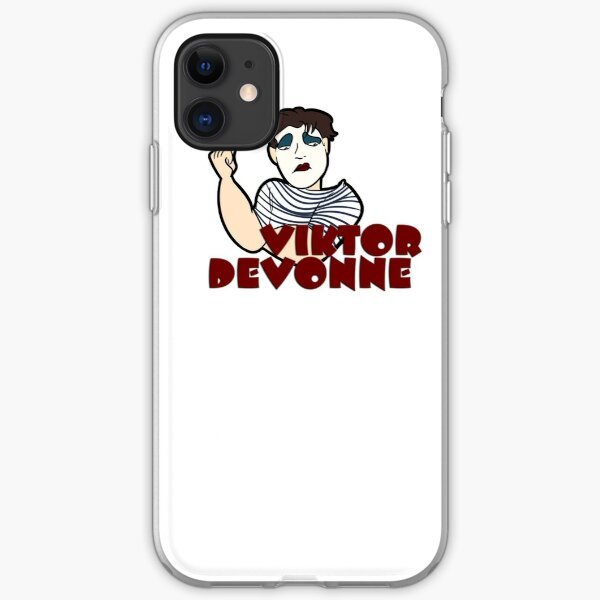 Viktor Caricature (Unimpressed) iPhone Soft Case