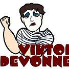 Viktor Caricature (Unimpressed) by weburlesque