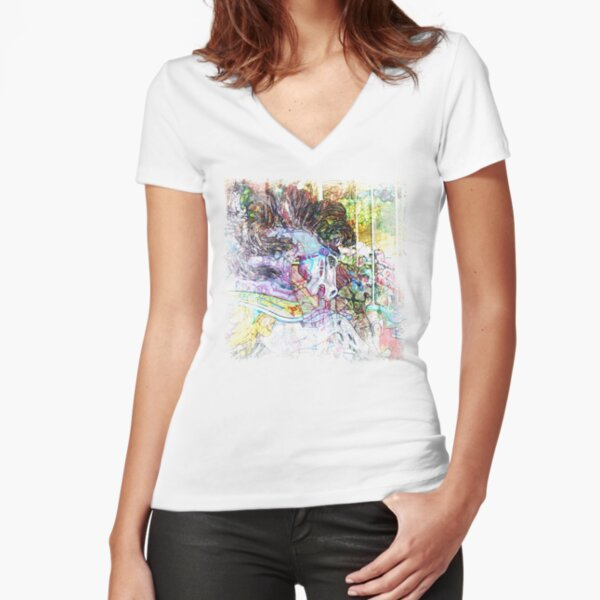 The Atlas Of Dreams - Color Plate 83 Fitted V-Neck T-Shirt
