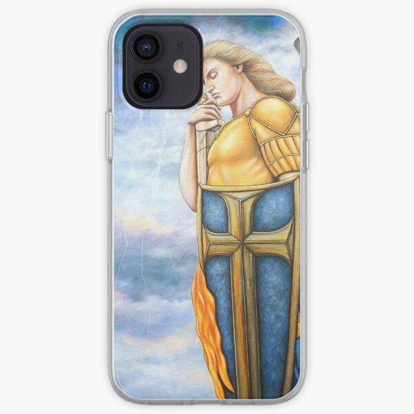St Michael's Glory iPhone Soft Case