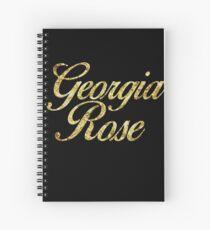 Georgia Rose Spiral Notebook