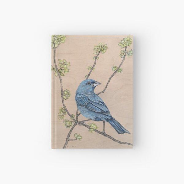 Indigo Bunting Hardcover Journal
