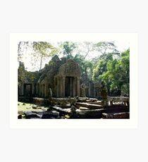 Angkor Wat , Siem Reap Art Print