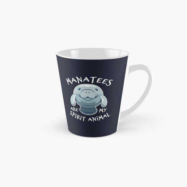 Manatees Are My Spirit Animal - Cute Manatee Tall Mug