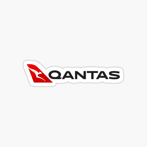 Best Seller - Qantas Airlines Merchandise Sticker