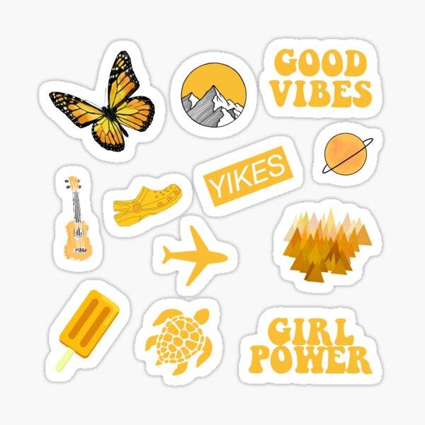 Yellow Pack Sticker