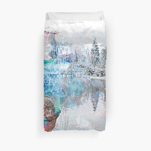 The Atlas Of Dreams - Color Plate 15 alternate Duvet Cover