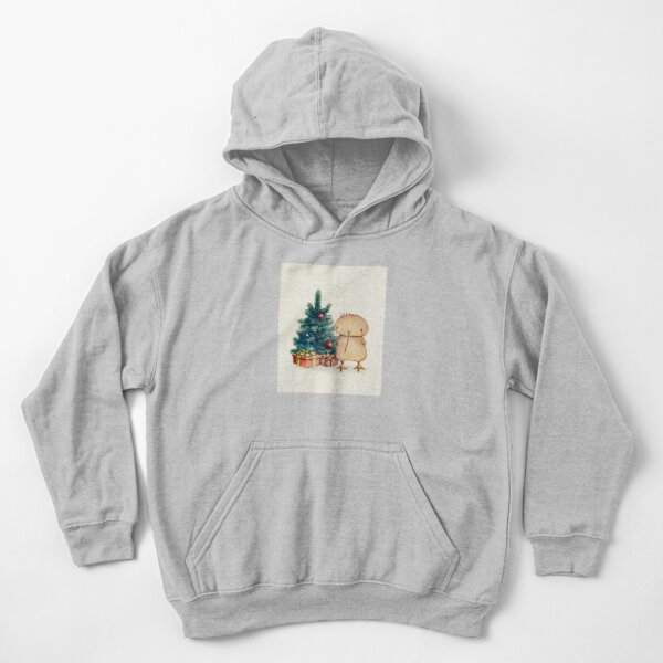 Xmas Kwii for kid clothes Kids Pullover Hoodie