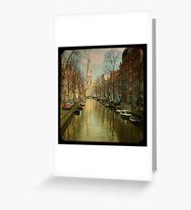 The Zuiderkerk at Amsterdam Greeting Card