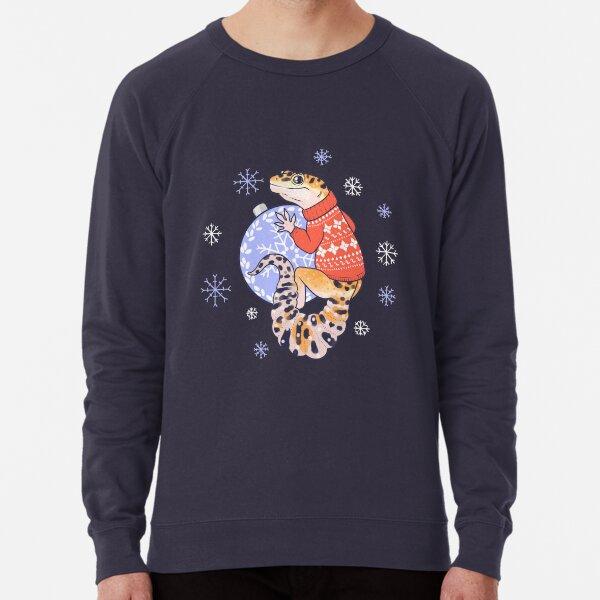 Leopard Gecko in a sweater Lightweight Sweatshirt