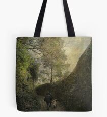 The shadow of a wall Tote Bag