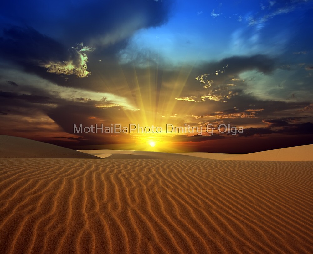 Sandy desert by MotHaiBaPhoto Dmitry & Olga