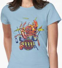 Rocking Lobster Women's Fitted T-Shirt