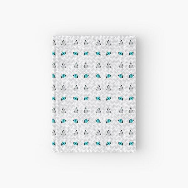 Repeating Huskies Hardcover Journal