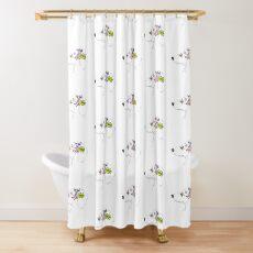 Harajuku Pup Shower Curtain