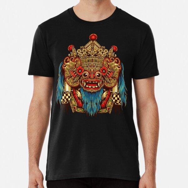 Barong Mask -Balinese mask - Bali mask Premium T-Shirt