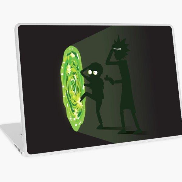 Rick and Morty - Portal Travel Laptop Skin
