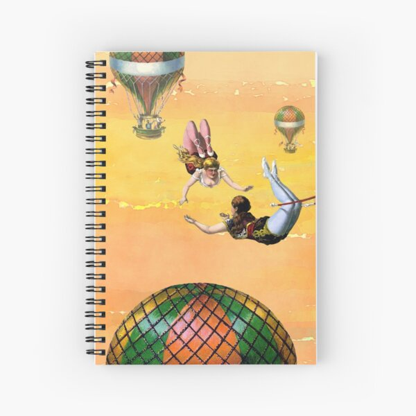 Flyers Trapeze Artists in the Sky  Spiral Notebook