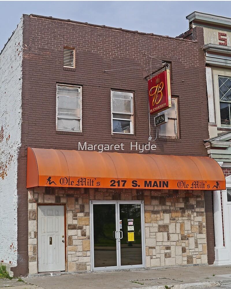 Ole Milt's Bar, Hannibal, Missouri, USA by Margaret  Hyde