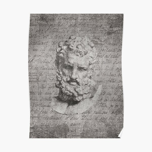 ANCIENT / Head of Herakles Poster