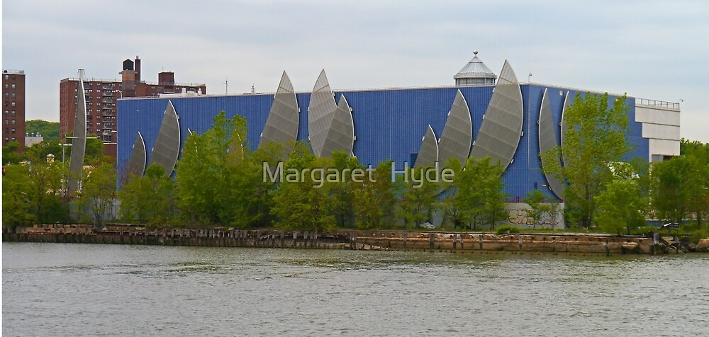 Boathouse, New York by Margaret  Hyde