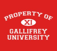Property of Gallifrey University - 11th Doctor