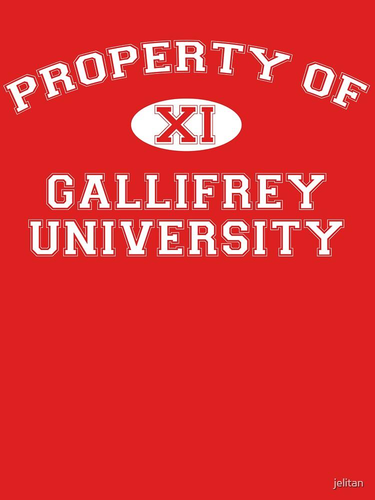 Property of Gallifrey University - 11th Doctor by jelitan