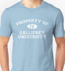Property of Gallifrey University - 4th Doctor T-Shirt