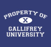 Property of Gallifrey University - 10th Doctor
