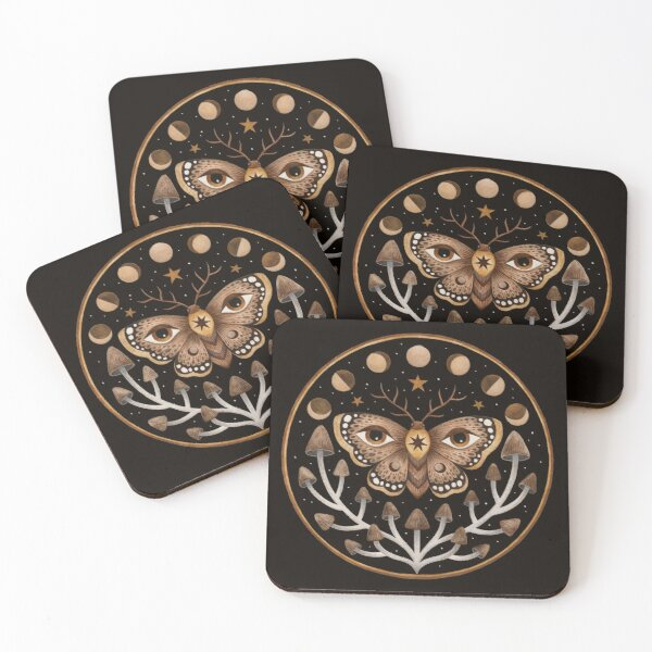 Forest visions Coasters (Set of 4)