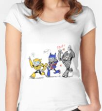 Revenge of the Small Women's Fitted Scoop T-Shirt