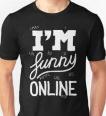 I'm funny online (white) T-Shirt
