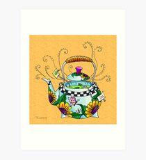 Hot Tea Art Print